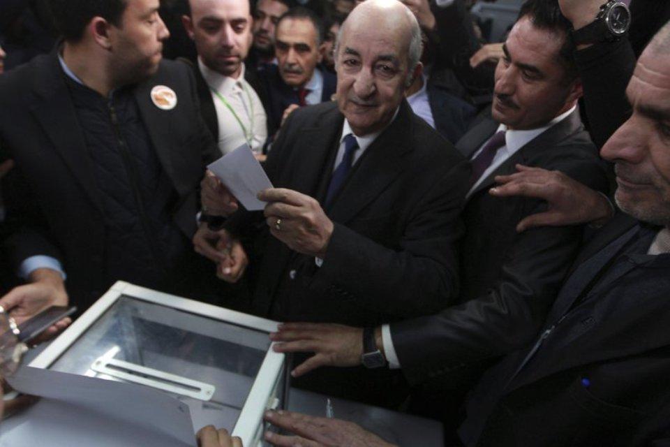 Former PM Tebboune elected Algeria's new president