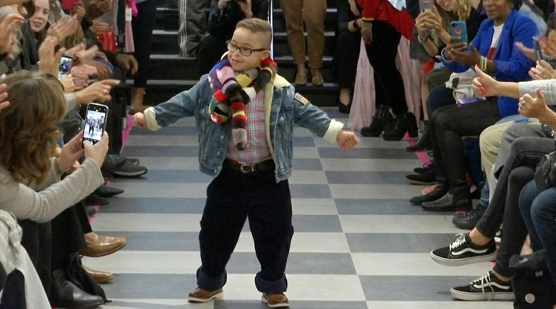 Fashion show lets Down syndrome models strut their stuff