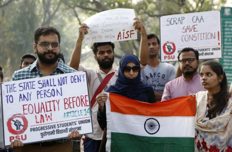 India's LGBTQ community joins citizenship law protests