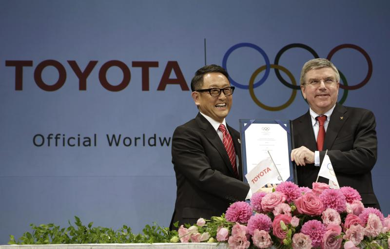 Olympic sponsor Toyota pulls Games-related TV ads in Japan