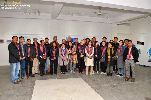 Nepal-Korea contemporary art concludes
