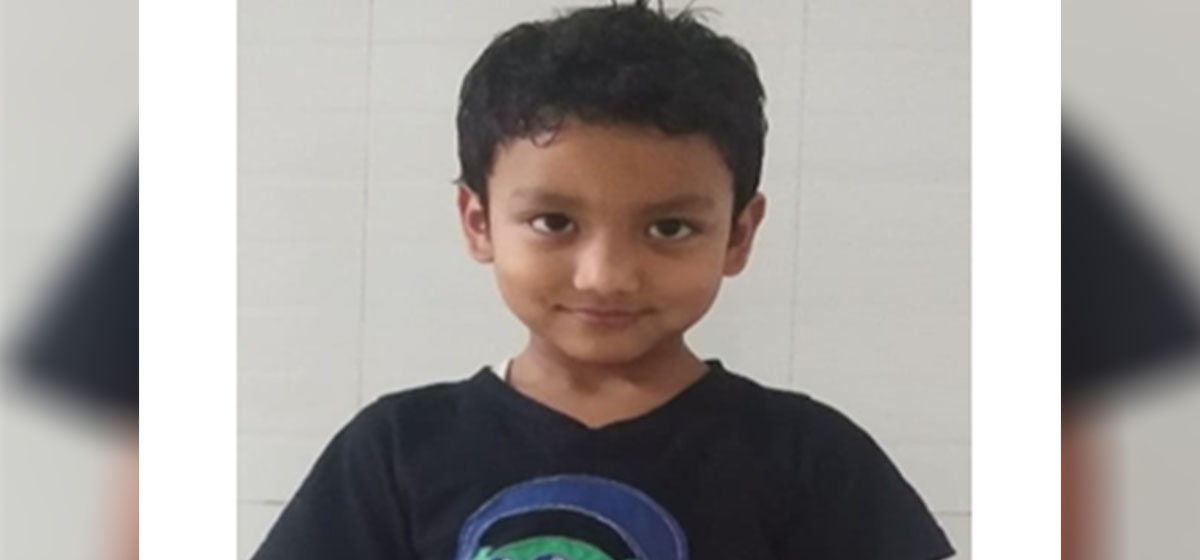 8-yr-old Suraj still waiting for his repatriation from India