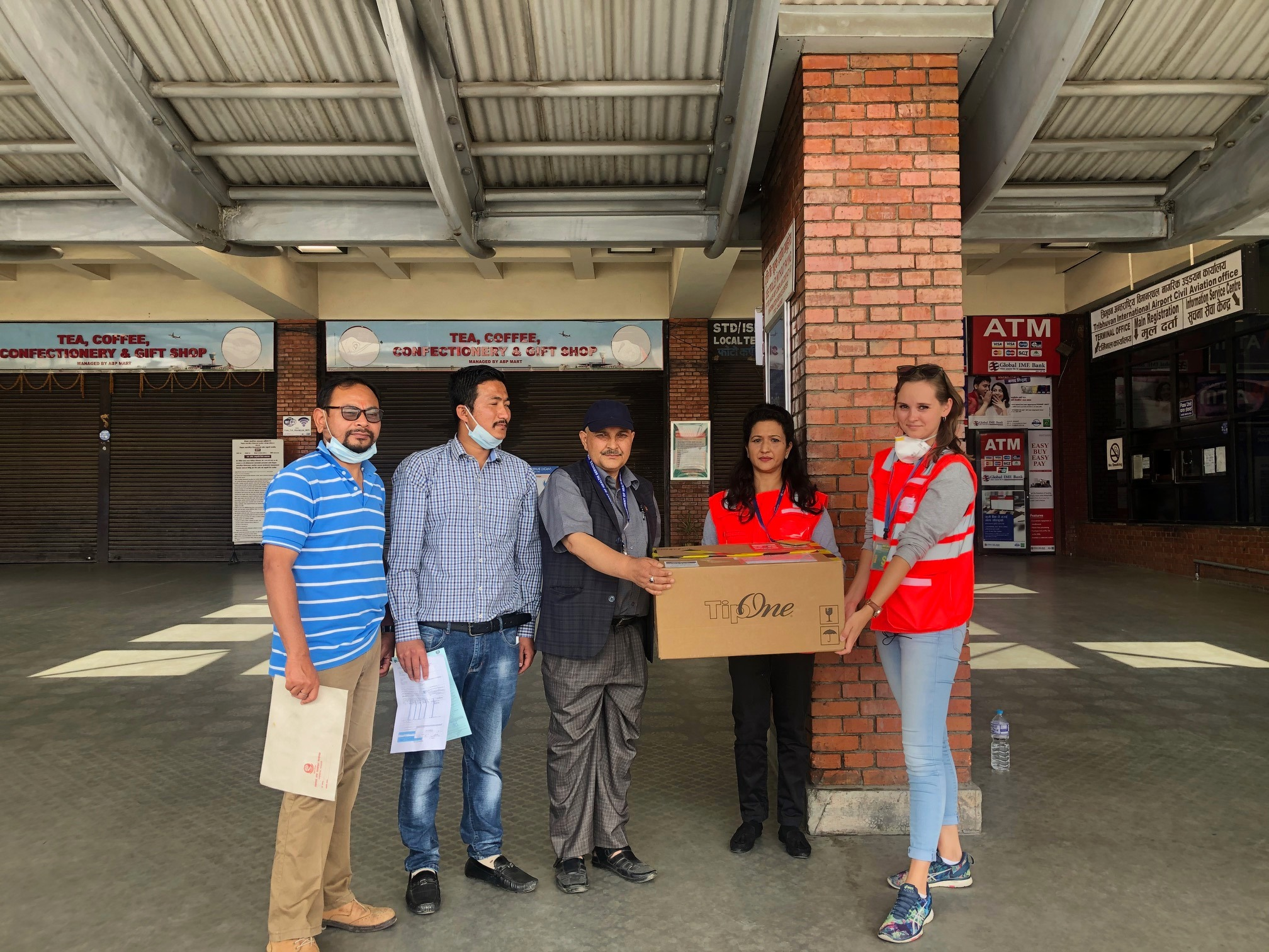 3,000 PCR Test kits donated by Germany arrive Nepal in French repatriation flight