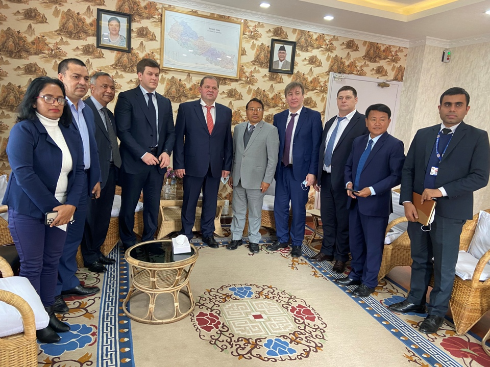 Russia shows interest in investing in Nepal's hydropower sector