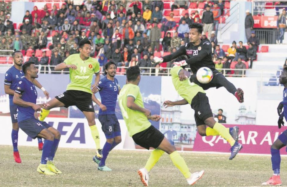 Army misses chance go top after Sankata draw