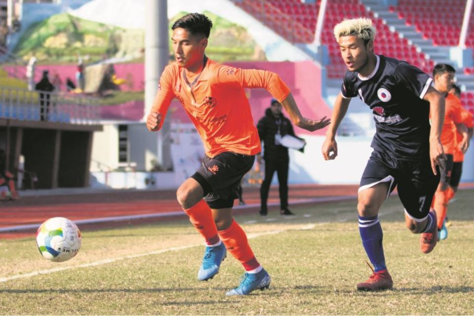 Friends, Sherpa share the spoils in a goalless draw