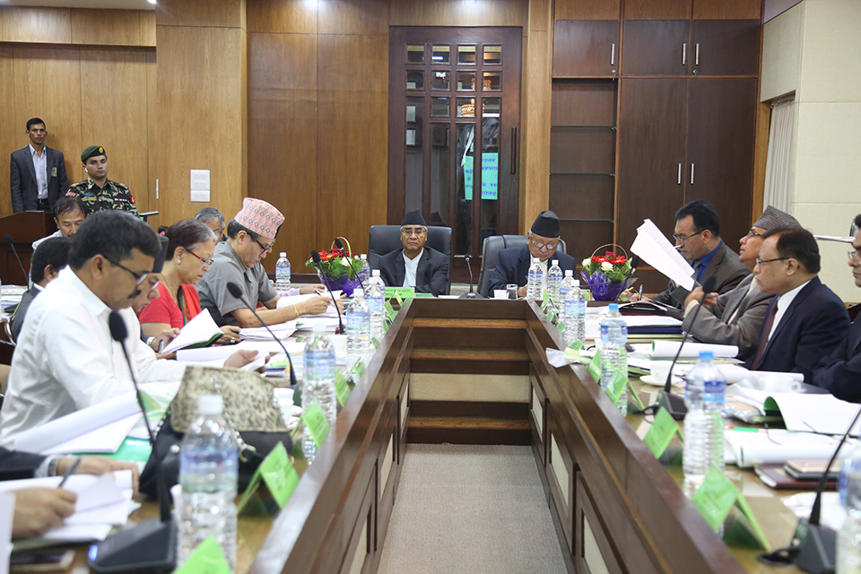 Study of agriculture and forestry in priority: PM Deuba