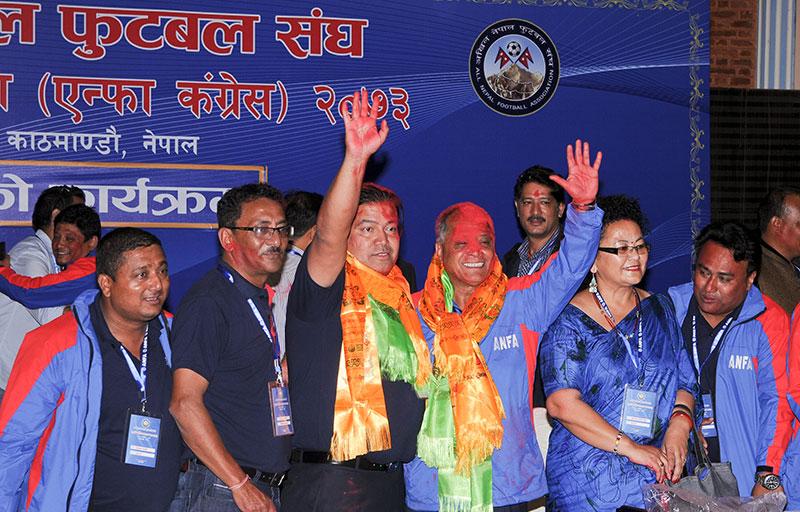 Narendra Shrestha elected ANFA president