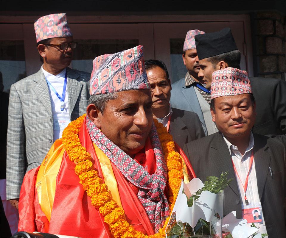 Adhikari unanimously elected Province 4 Speaker