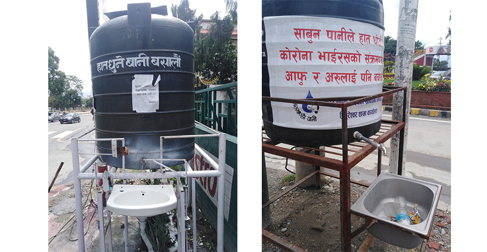 Public taps installed by local units are now being stolen, vandalized