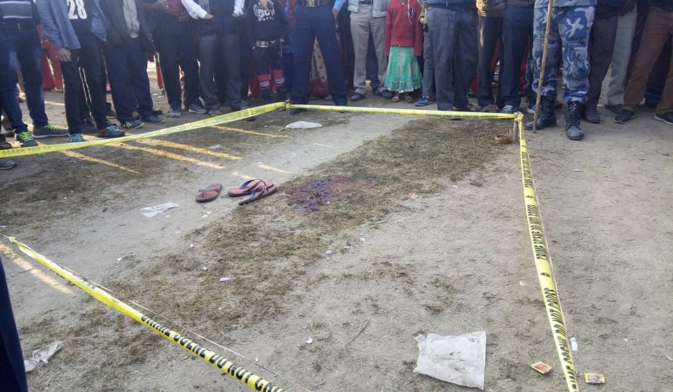 Five stab one to death during Holi