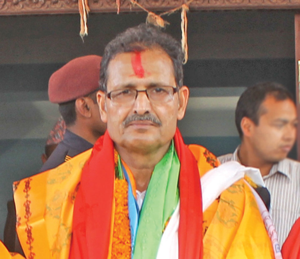 Agni Sapkota proposed as NCP candidate for new speaker