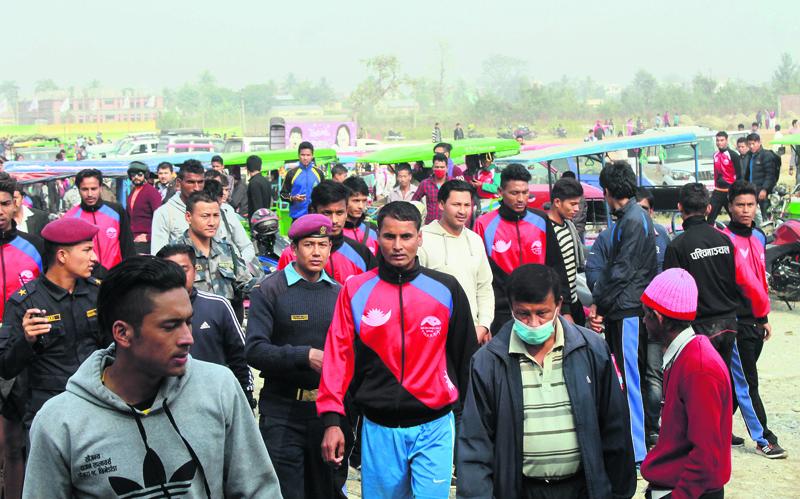 On-field disputes overshadow National Games