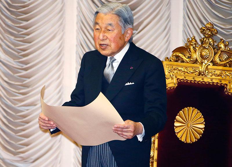 Japan's Emperor Akihito, 82, considering retiring