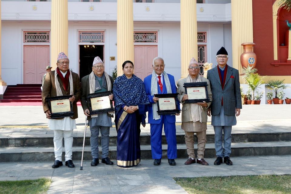 AFNA honors four former Nepali ambassadors