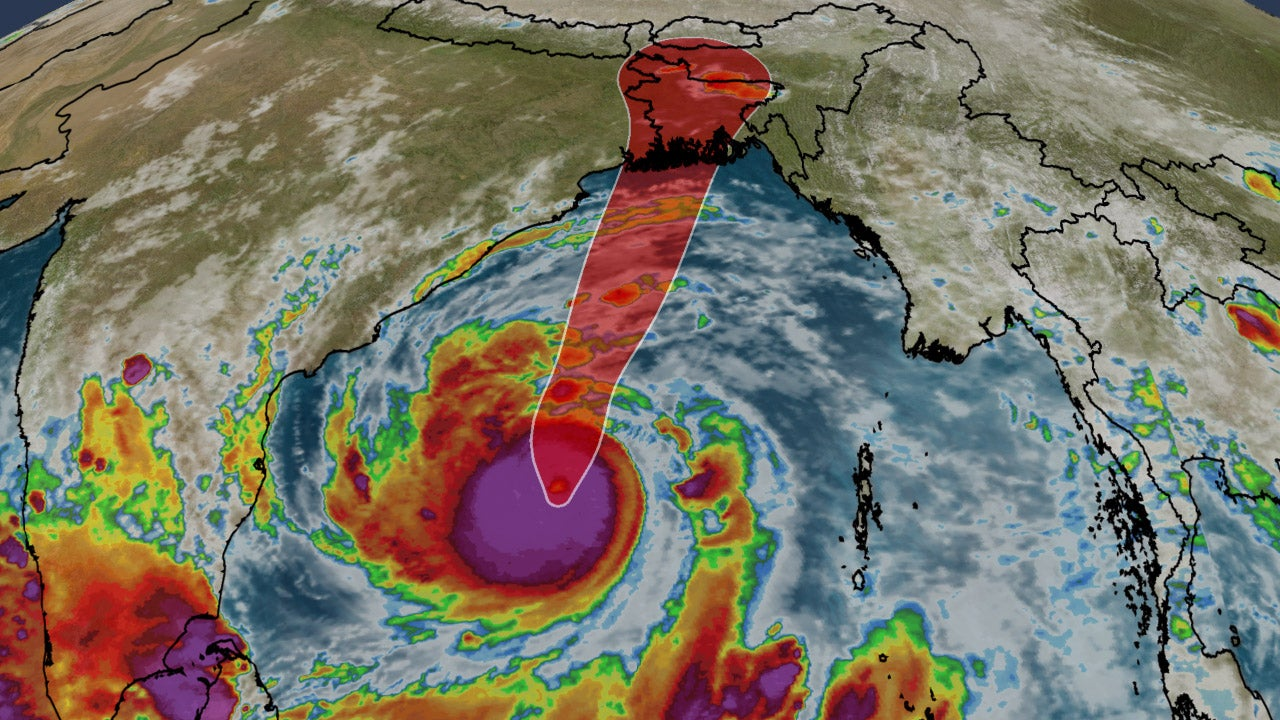 WEATHER ALERT: Cyclone Amphan developing into super cyclone, rainfall and snowfall forecast in Nepal