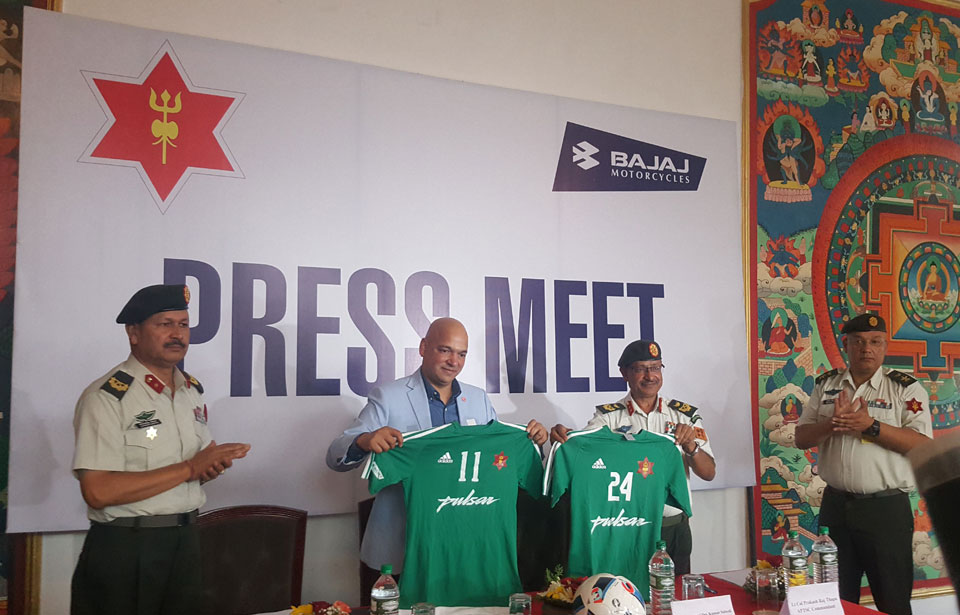 Army inks sponsorship deal with Pulsar