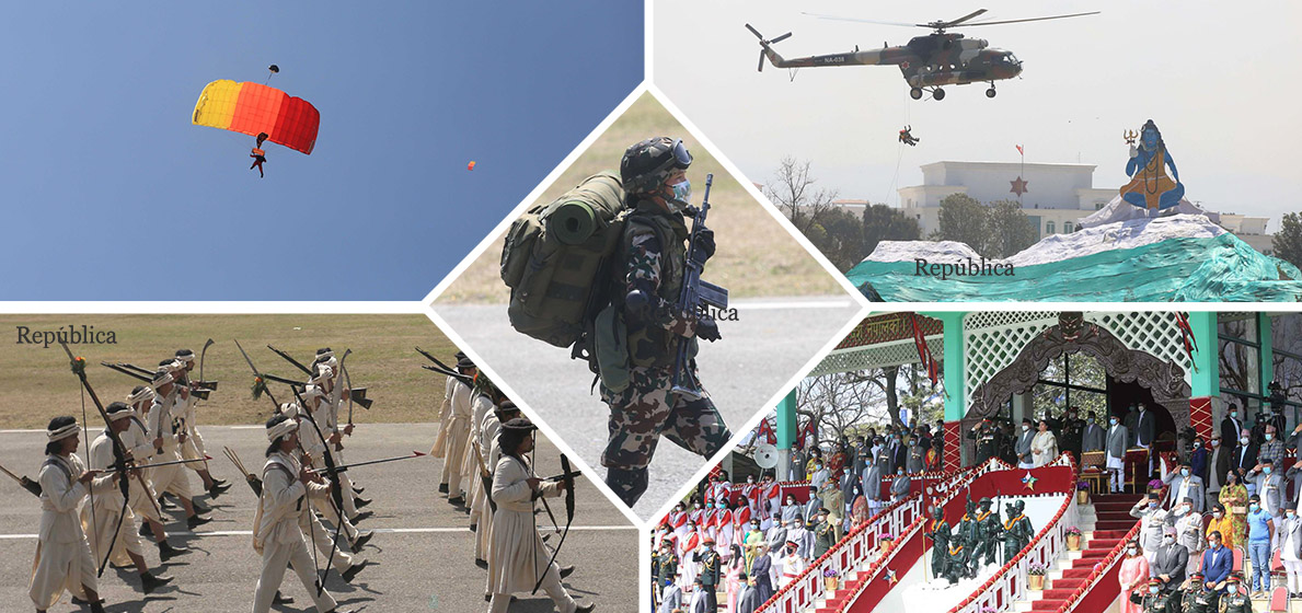 Army Day marked with fanfare in capital (with photos and video)