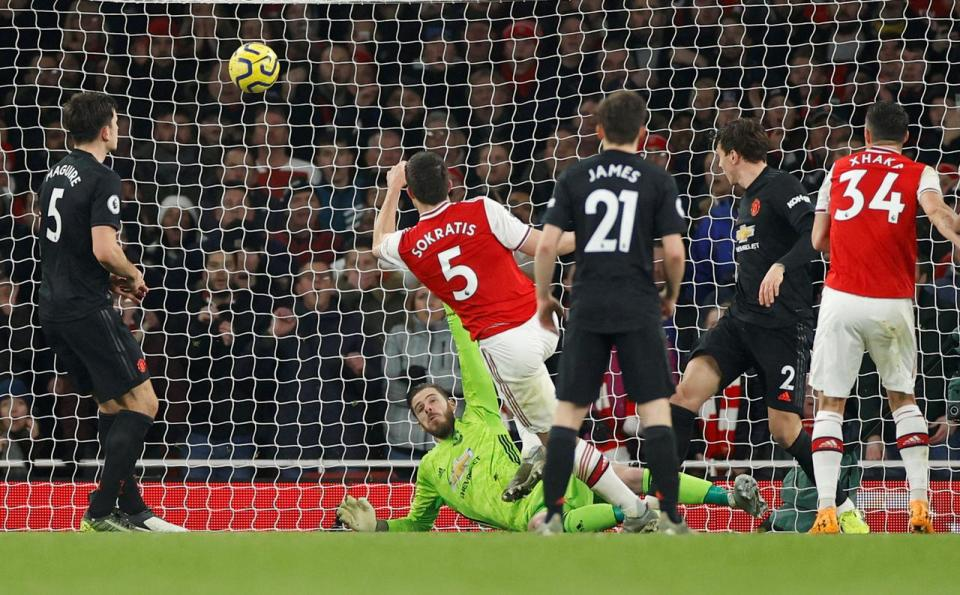 Arsenal dominate Manchester United in first win for Arteta