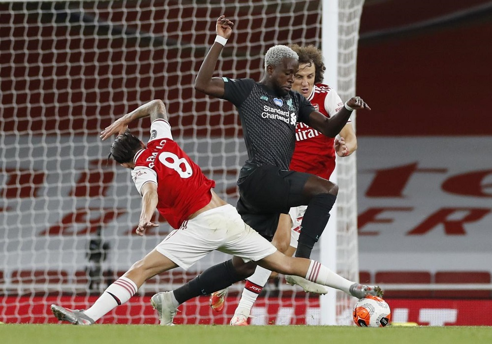 Arsenal beat Liverpool 2-1 to end hopes of record points haul