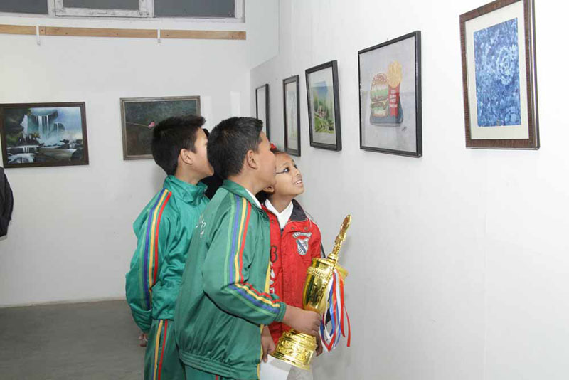 Alfesco Open Art Exhibition begins at Nepal Art Council
