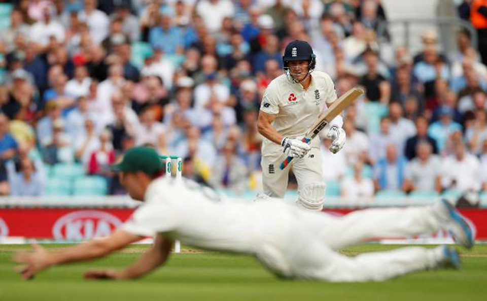 Burns, Root lay solid platform for England