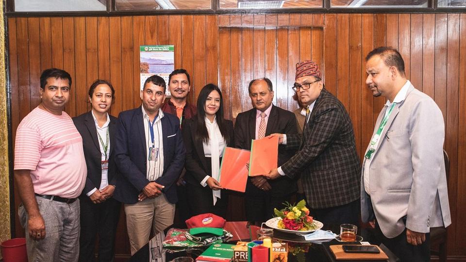 Kunwar appointed brand ambassador for Agricultural Development Bank