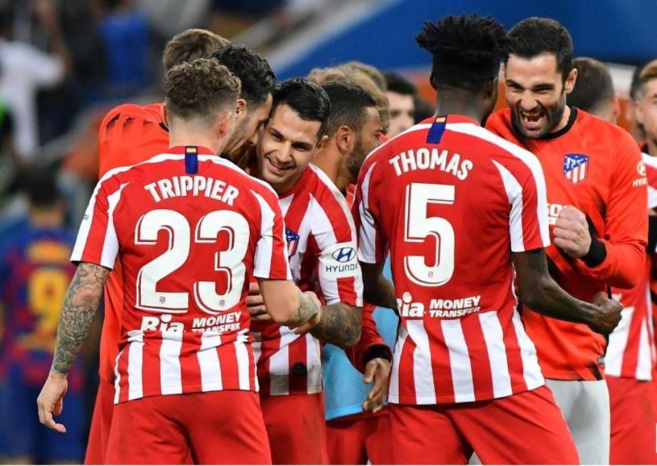 Atletico stun Barca to reach Super Cup final