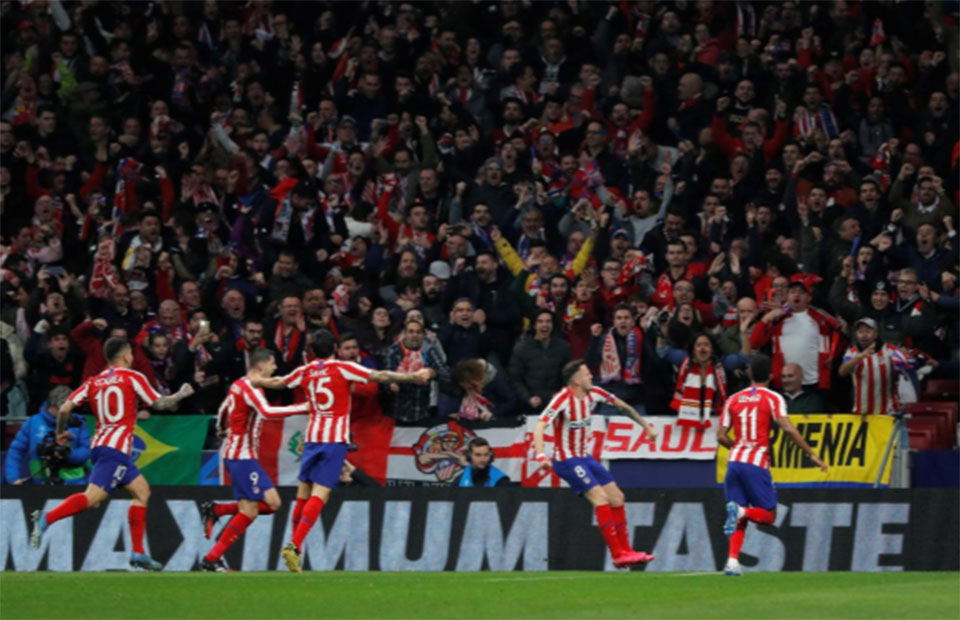 Atletico edge Liverpool with vintage defensive display