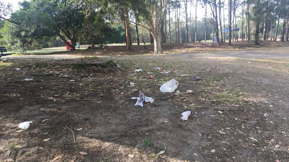 Australian mayor furious over post-Holi debris in park