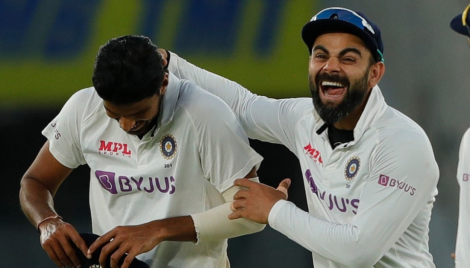 India beat England inside two days as chaos reigns in day-night test