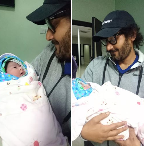 It's a baby girl for versatile actor Bipin Karki