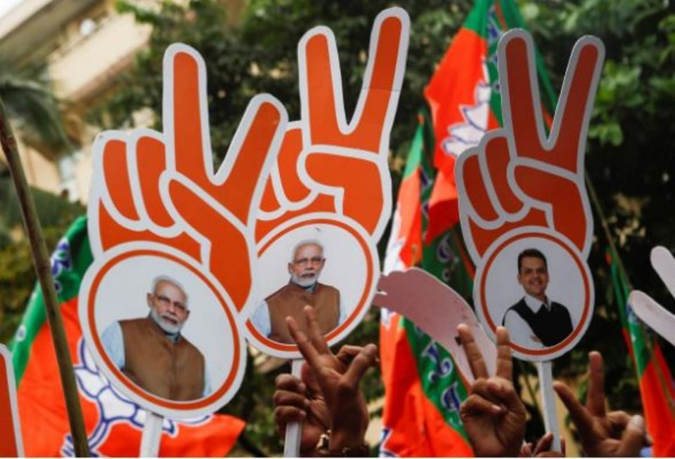India's ruling BJP leads in state polls but big win elusive