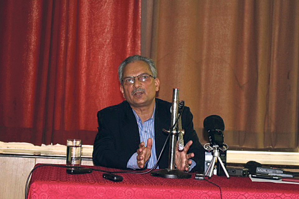 Migration a big concern: Former prime minister Baburam Bhattarai