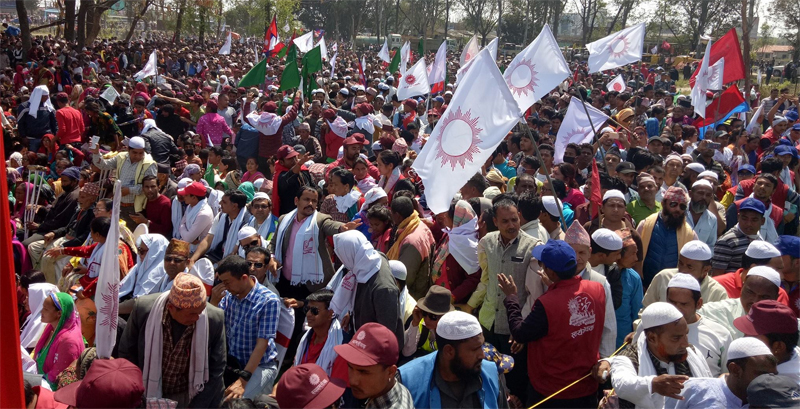 UDMF cadres try to foil UML rally, clash with police