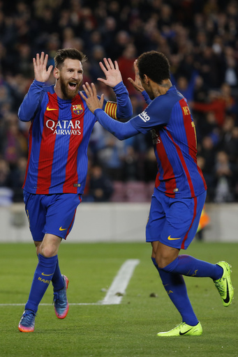 Messi, Barca send warning to PSG that 4 goals aren't enough