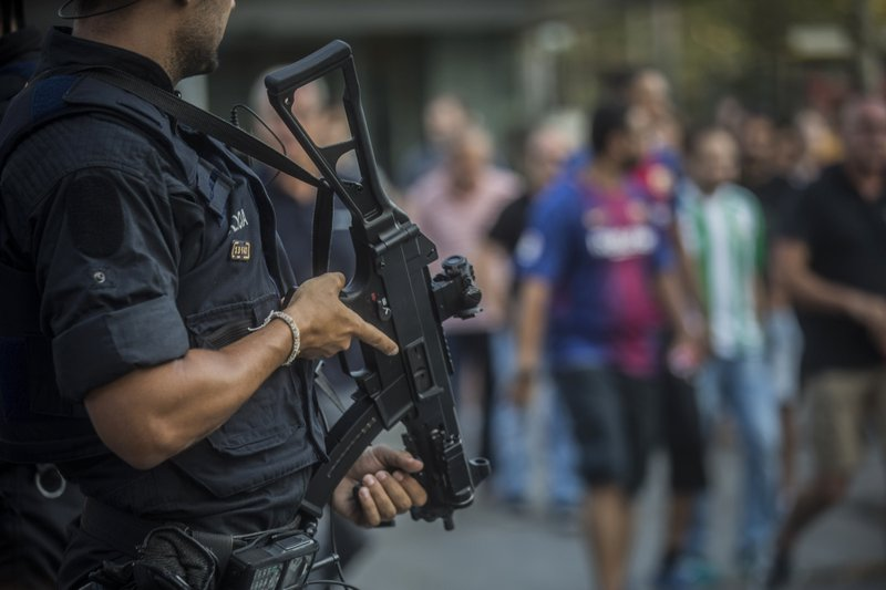 Barcelona attack driver still at large, identity confirmed