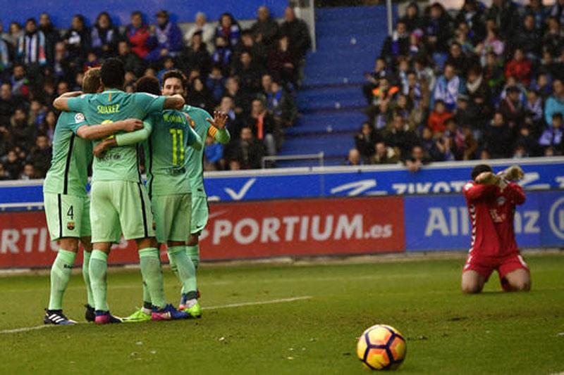 PSG-Barcelona highlights last 16 of Champions League