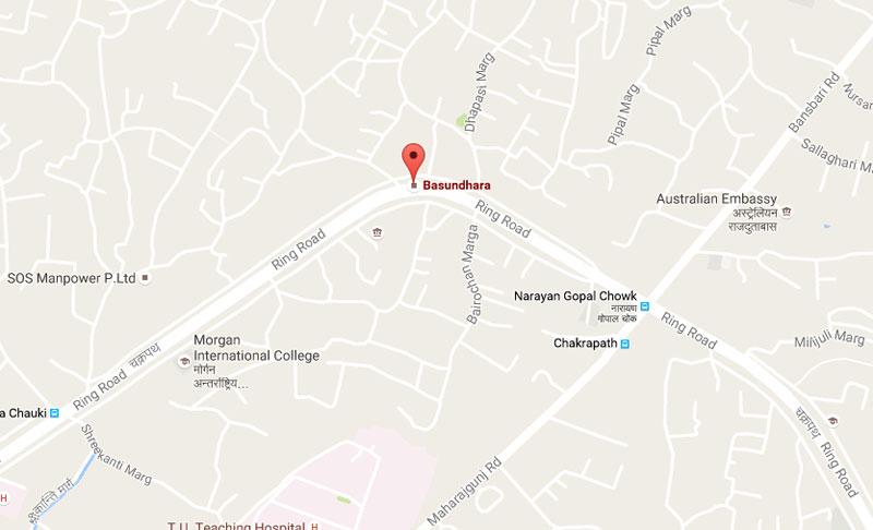 One killed, 14 injured in Basundhara bus accident