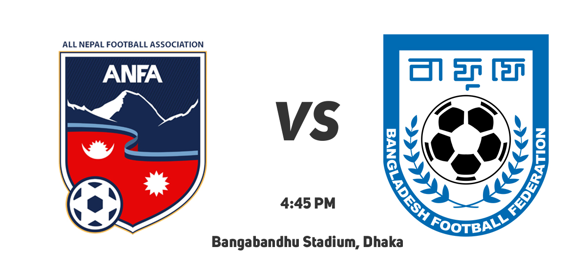 Nepal taking on B'desh in their first friendly match today