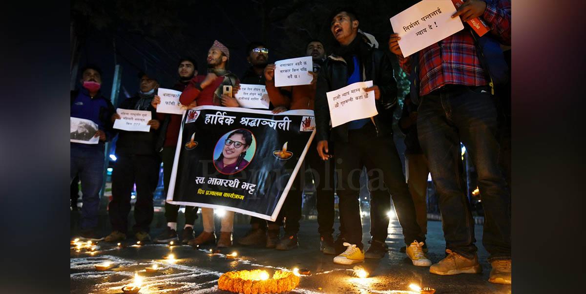 Prime suspect in rape and murder of Bhagarathi Bhatta arrested
