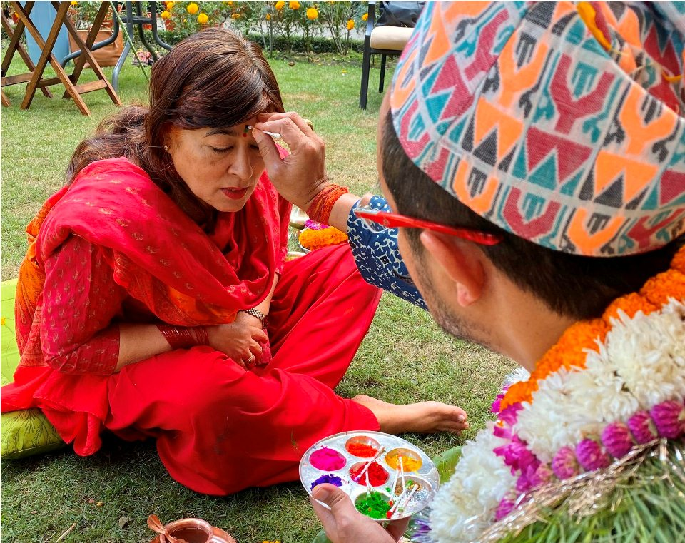 Nepali Hindus observe Bhaitika, the most important day of Tihar (with photos)