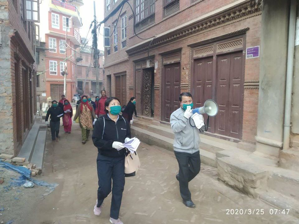 Bhaktapur municipality introduces stricter rules to control people's movement during lockdown