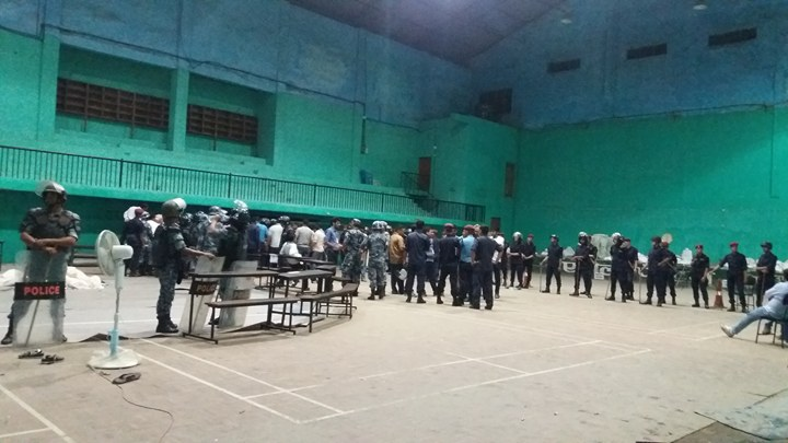 Sealed ballot papers opened after 46-member team enters Bharatpur counting center