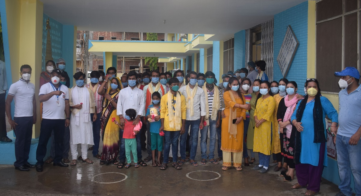 25 COVID-19 patients in Bhairahawa return home after recovery
