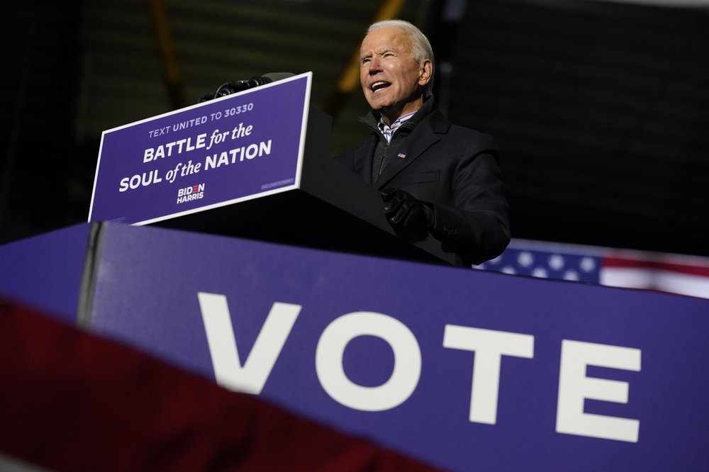 Trump, Biden cede stage to voters for Election Day verdict