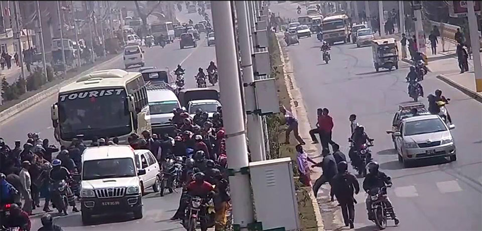 Kathmandu Valley witnesses 17 road accidents on a daily basis