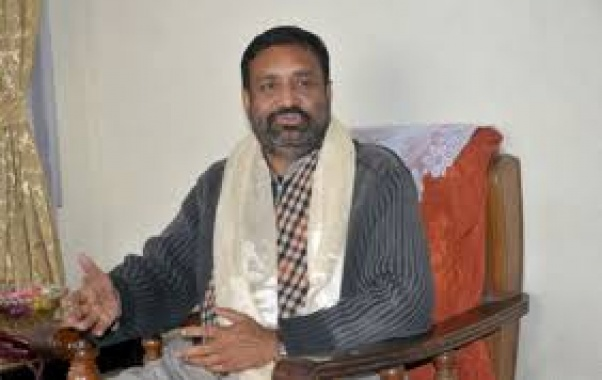 Nidhi resumes his office as home minister