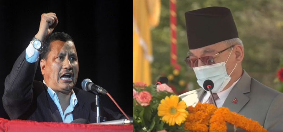 Home Minister Thapa hints at tightening the noose on underground Chand-led NCP