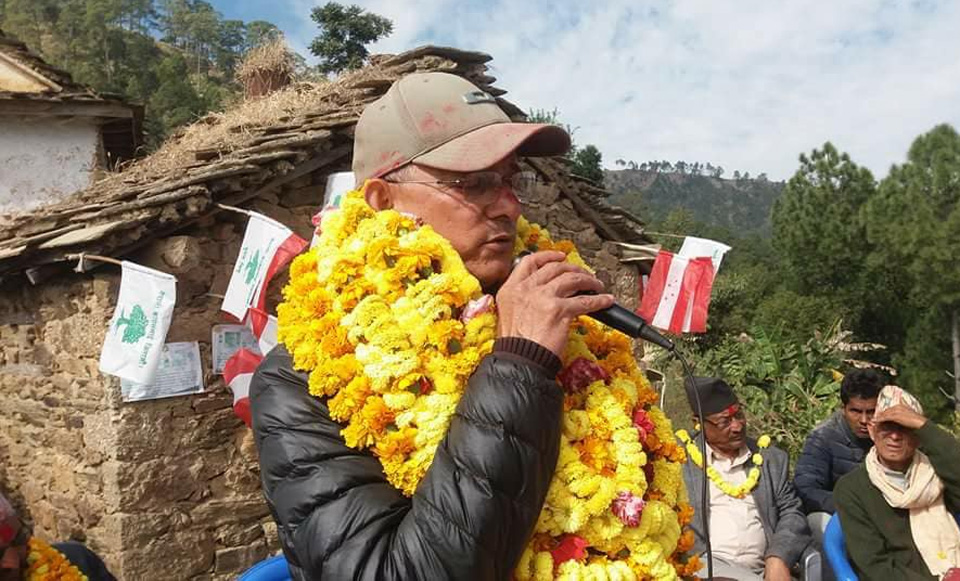 CPA failed to get final shape due to Maoist Center: Minister Balayar
